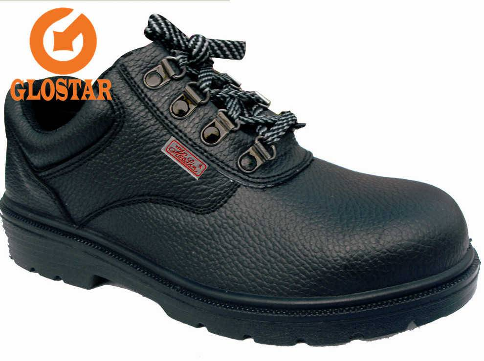 PU injection-embossed safety shoes