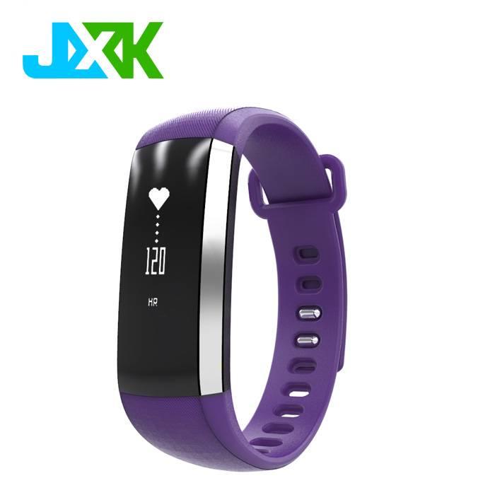 JXK Smart Wrist Band Blood Pressure Heart Rate Monitor M3 Bracelet Sport Activity Clock Wristband Bl