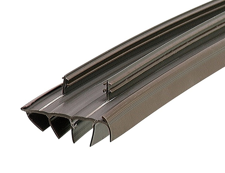 M-D Building Products 67967 35-3/4-Inch Kerf Style Replacement Door Bottom with Vinyl Fins, Brown