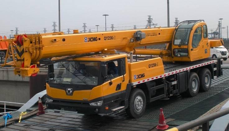 25 ton XCMG Truck Crane QY25K-II (QY25K)