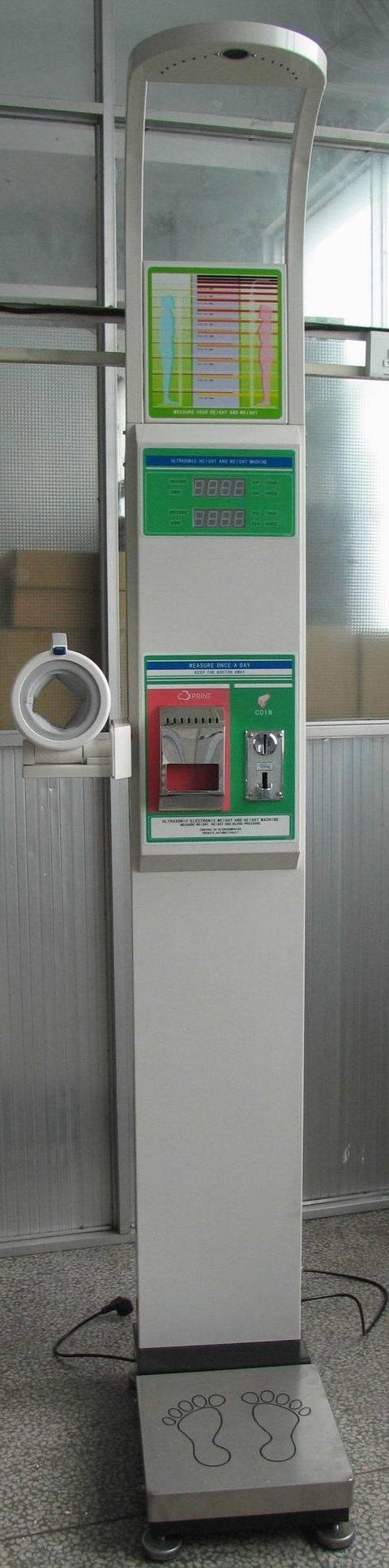 Coin-Operated Body Scale CVE-BS15