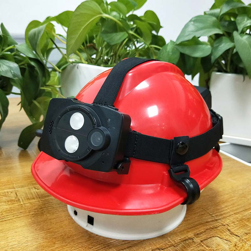 WiFi 4G Safety Helmet GPS Engineering Safety Helmet Camera SOS Alarm
