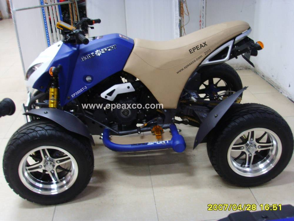 new honda style atv for 350cc with ballonet absorber