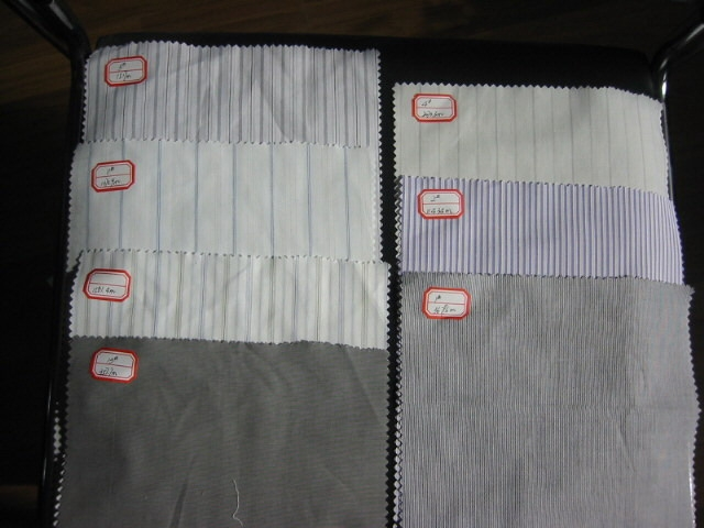Cotton Yarndyed fabrics for the shirting