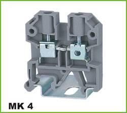 Din-rail Terminal Wire arrage:0.2-4mm2 Part No.WS4