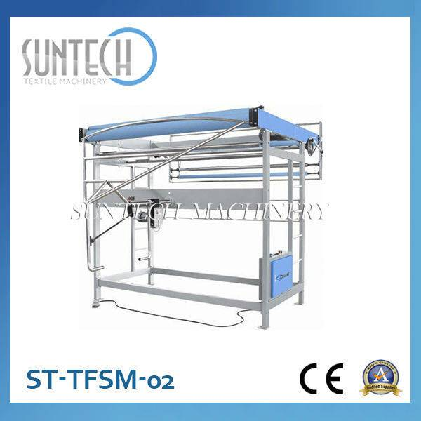 Low Price Tubular Fabric Slitting Machine(Simple fabric, for raw and dry fabrics)