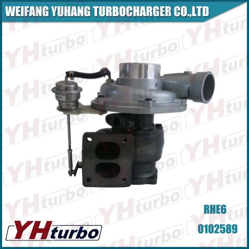 RHE6 turbocharger for diesel engine D6114ZGB
