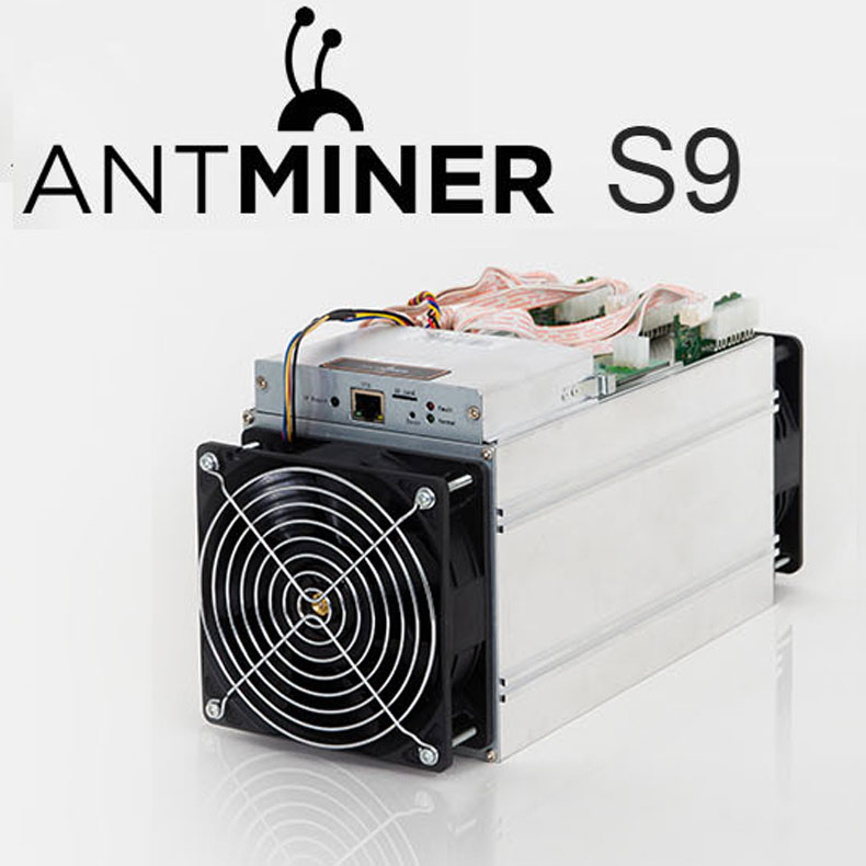 Newest Bitmain Antminer S9 14TH/s with APW+3 Power Supply In Stock