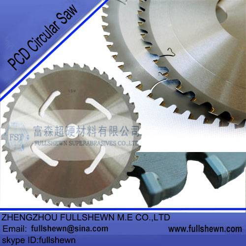 PCD circular saw blades for woodworking