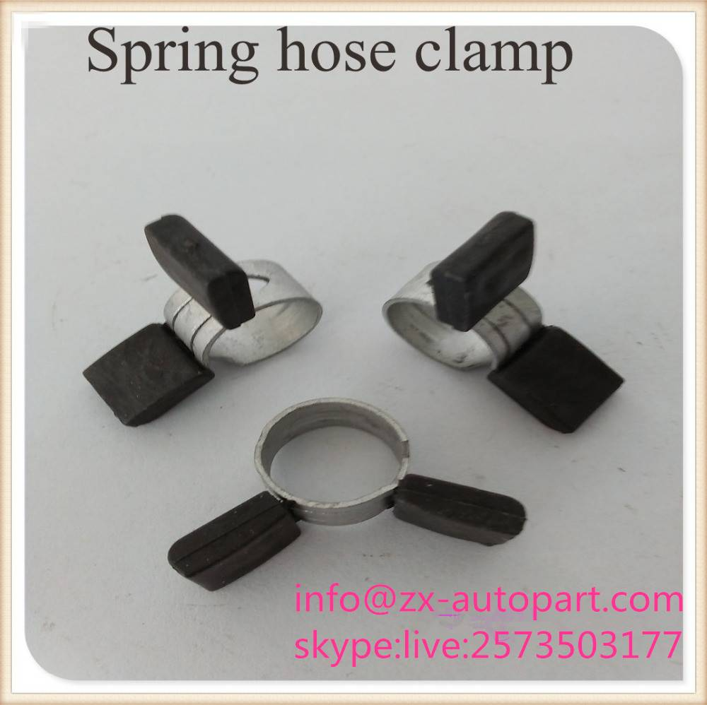Poweful stainless steel spring hose clamp