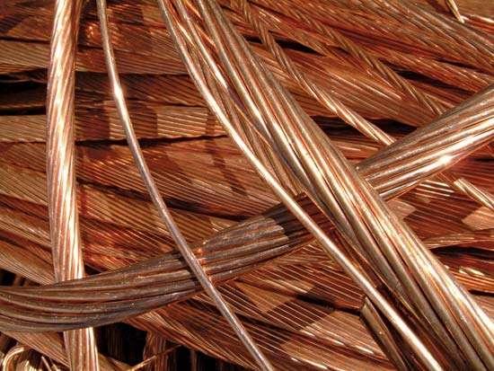 copper wire scarp