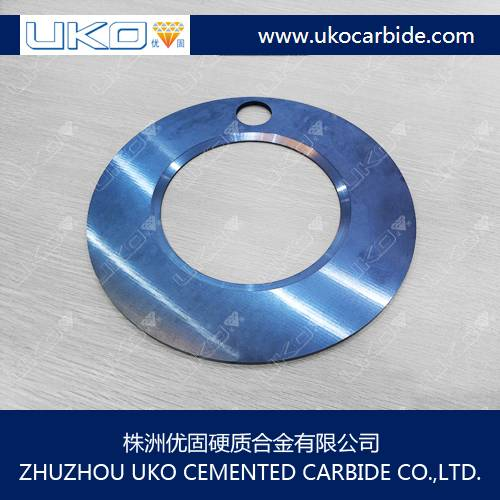 solid tungsten carbide circular saw blade for cutting tools