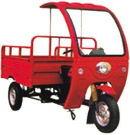 cargo tricycle TW150ZH-8A, with round headlight and windshield