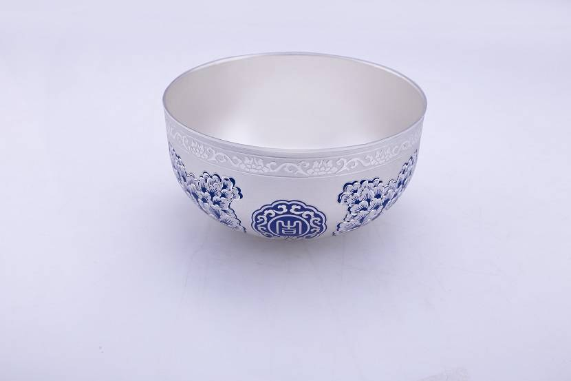 Sterling silver Ag 999 bowl