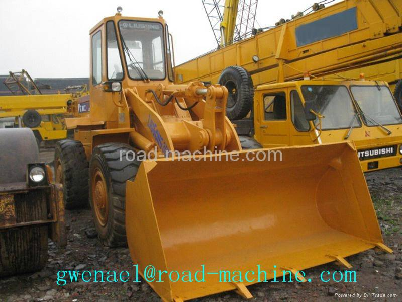 Wheel Loader 18T 3m³ Compact ZL50G , Yellow Small Wheel Loader