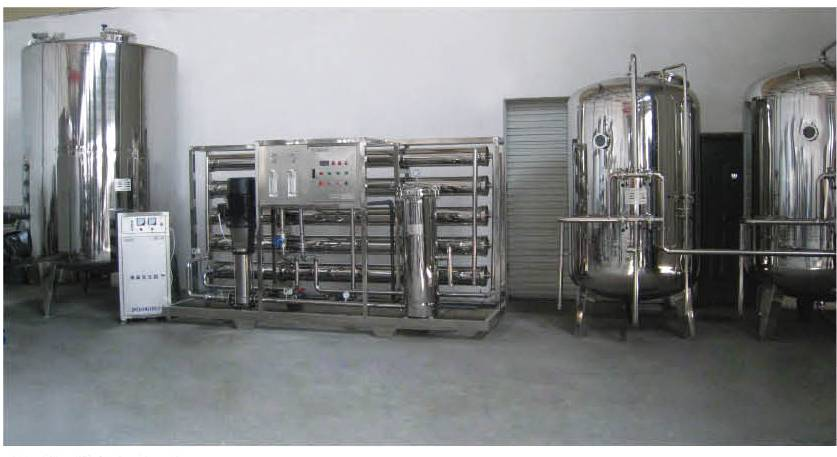 Drinking Water Treatment Equipment/Water Production Line (JY-RO)