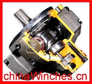 Radial piston Intermot IAM NHM hydraulic motor
