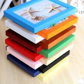 Wholesale High Quality MDF Frames Wooden Photo Frames With Cheap Price