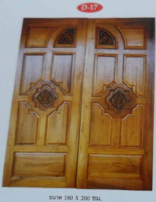 Teak Wood Door and Furniture from Thailand