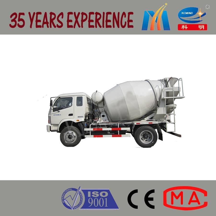 Mini Concrete Mixer Truck Machine