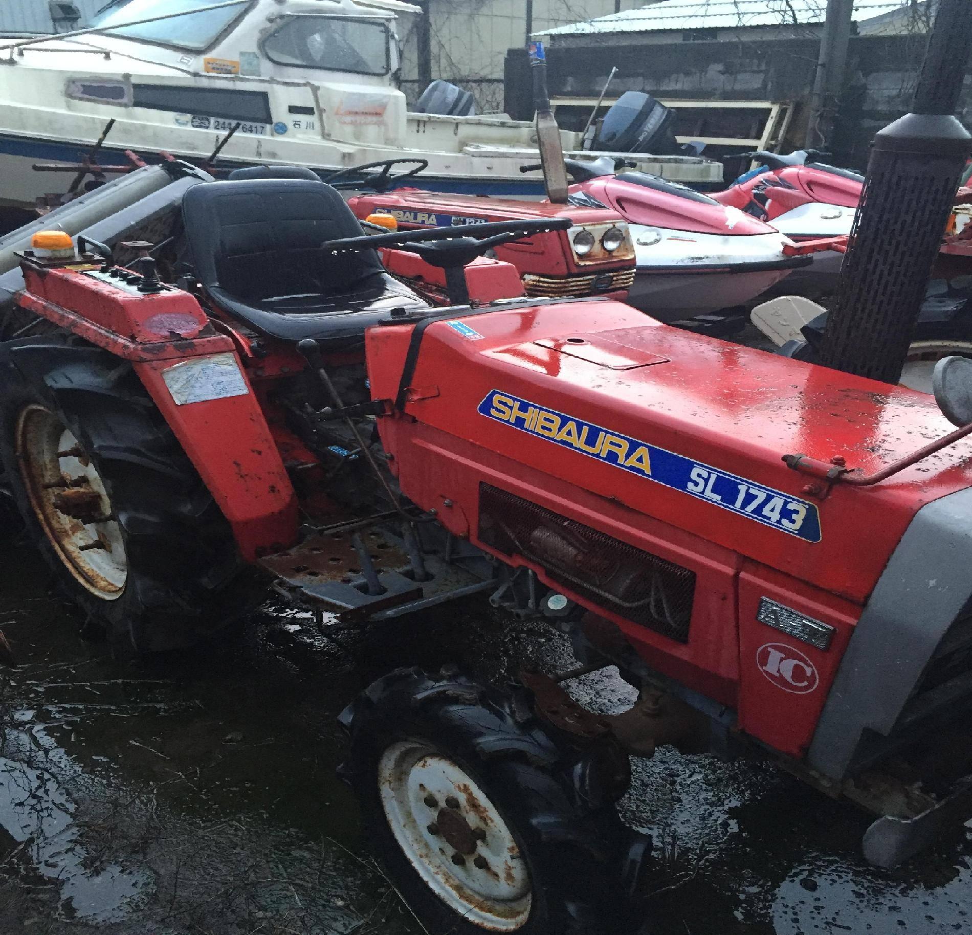 Used tractor Shibaura SL1743 Unit 2