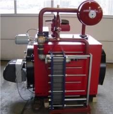 Biodiesel/Glycerin Burner, Boiler and Heat Exchanger (Model: BK-HEX)