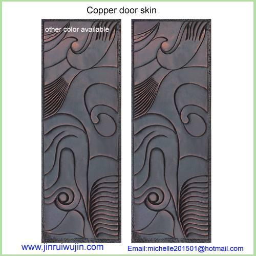 unique design 3D metal door plate