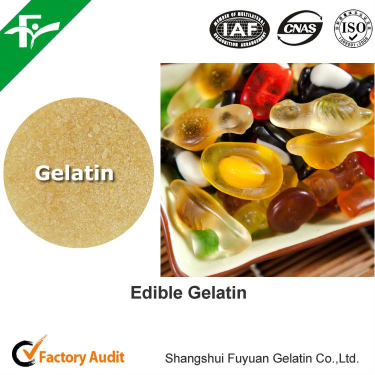 Edible Gelatin for gummy Candy