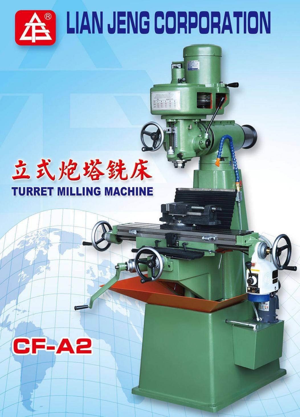 Vertical milling machine A2