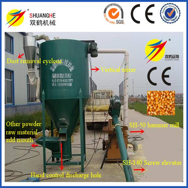 corn hammer mill for chicken and pig