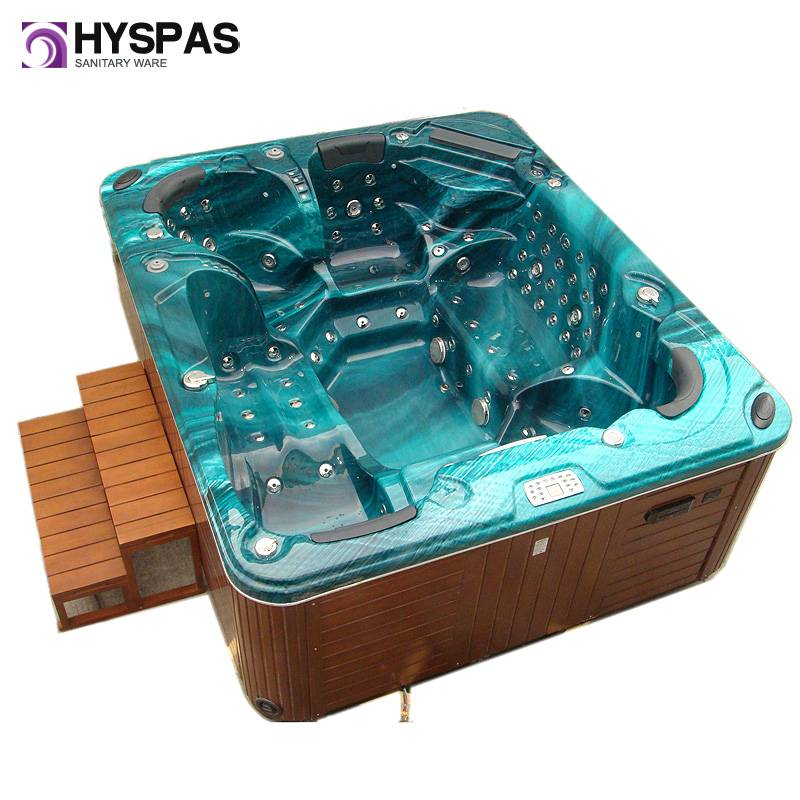European 6 Persons Customized Outdoor Jacuzzi SPA Bathtub (HY-6601)