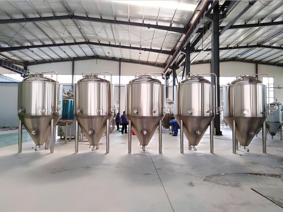 1000l SUS304 beer fermenters for pub and bar