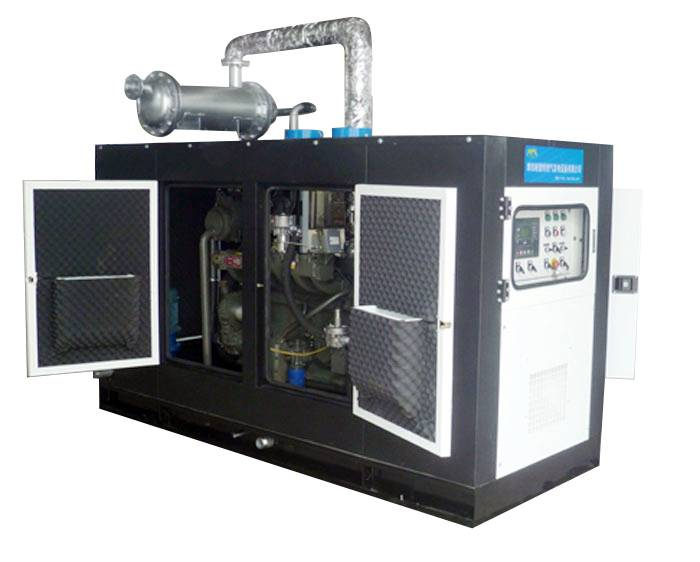 50kW biogas genset with CHP device