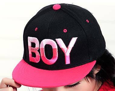 spring 2014 Korean version the influx men women hat new winter woolen letters spell color BOY hip-ho
