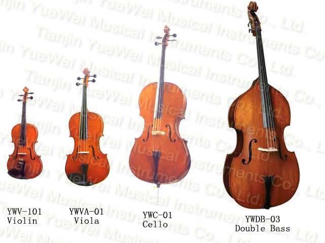 Bow Instrument Violin, Viola, Cello ,Double Bass