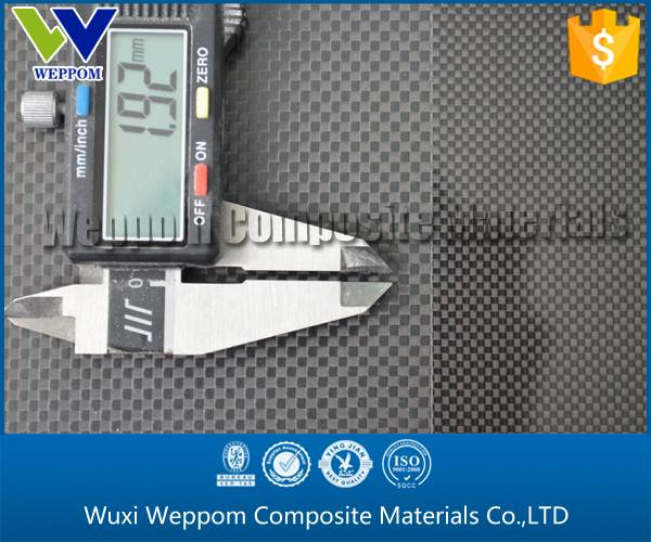Cheap And High Grade Carbon Fiber Plate From Gold Supplier