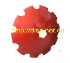 Notched Concave Discs