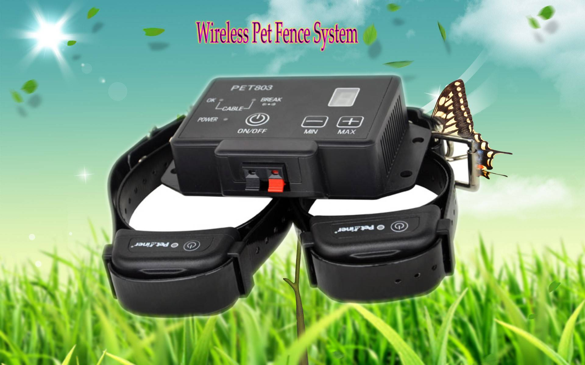 Complete Electronic In-Ground Pet Dog Training Boundary Perimeter Fencing System