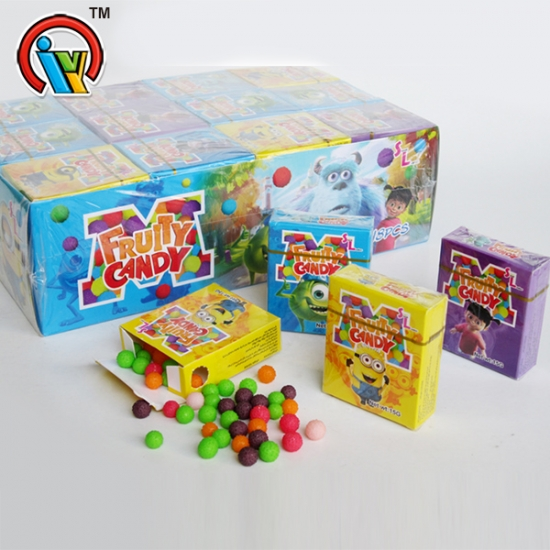Colorful Fruity Waxberry Candy