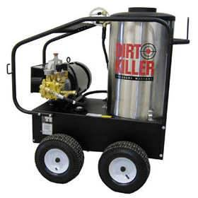 Dirt Killer Professional 3000 PSI (Electric-Hot Water) Pressure Washer 220V Single Phase