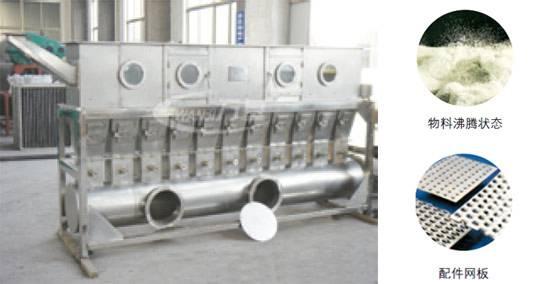 WDG Production Line XF Series Horizontal Fluid-Bed Dryer