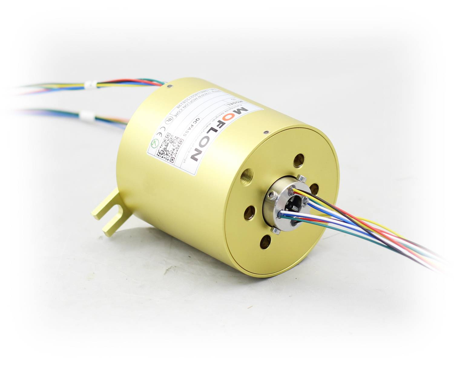 Through bore Slip Rings with bore 38.1mm,18wiresX(0~10A), through-hole Slip Ring
