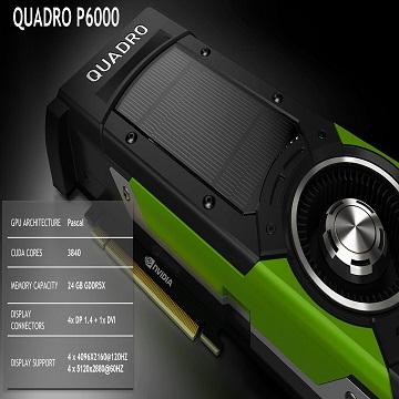 HP Quadro GP100 Graphics Card