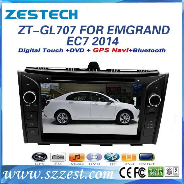 ZESTECH touch screen gps navigation for Geely Emgrand EC7 2014 Car media player car auto parts