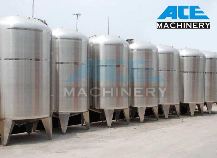 Sanitary Stainless Steel Vertical Storage Tank