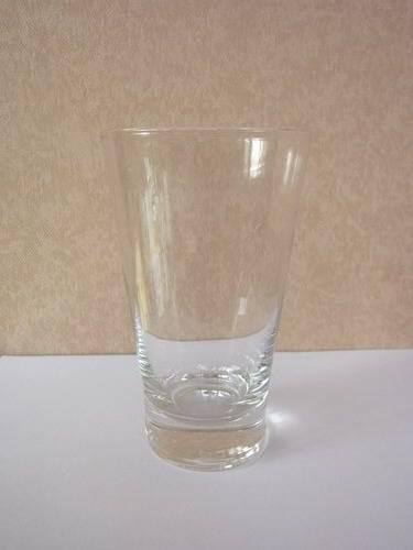 400ml thick bottom vodka glass
