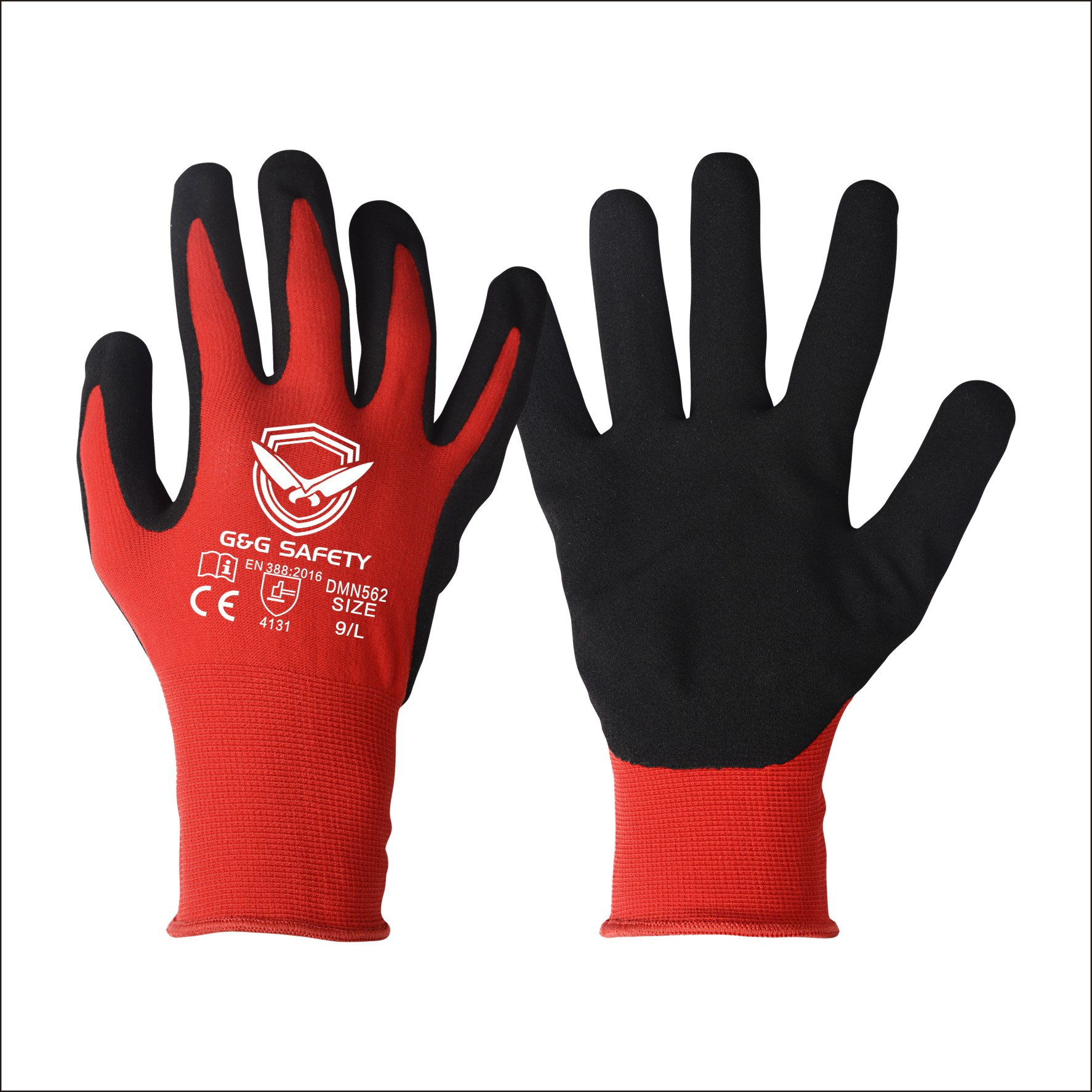 selling industrial safety glove from factory in China