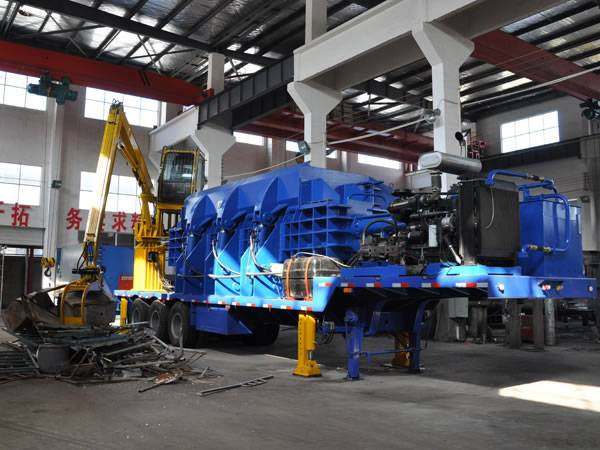 Mobile Car Baler Hot Sale From China