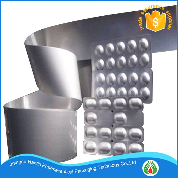 Highest quality Unprinted Alu Alu Bottom Foil For Blister Pack