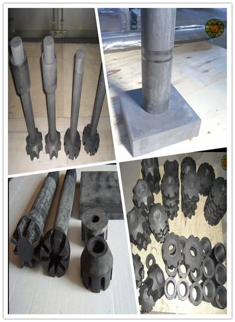 graphite degassing rotor